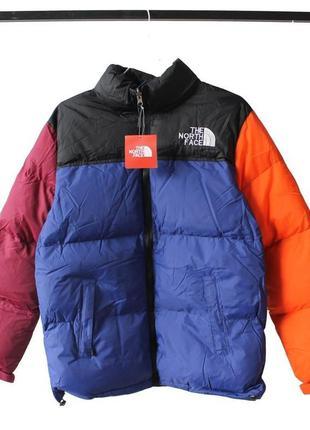 Зимняя куртка the north face multicolor пуховик