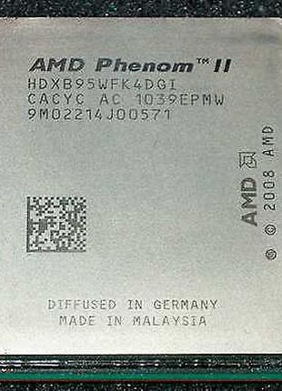Процессор Phenom II x4 B95 (945) 3.0GHz Socket AM3/AM2+