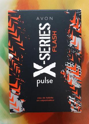 Туалетная вода x-series flash.pulse
