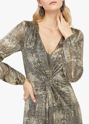 Шикарное платье на запах новое с биркой новогодние monsoon