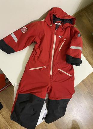 Зимний комбинезон helly hansen 86/1 лыжный костюм