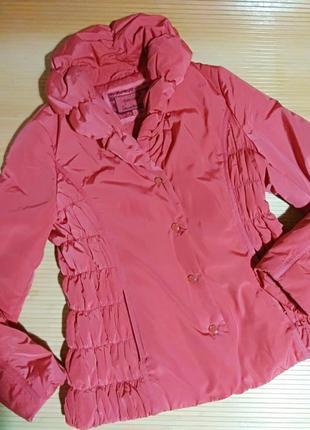 Коралловая курточка marks&spencer, размер 46-48