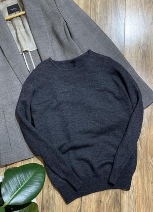 Реглан, пуловер шерсть 100%