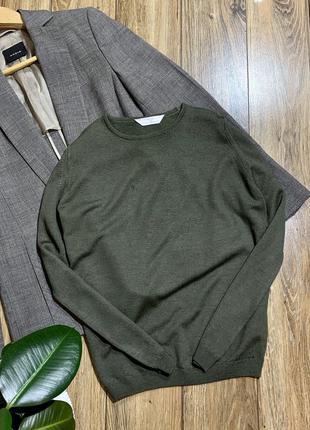 Пуловер шерсть 100%