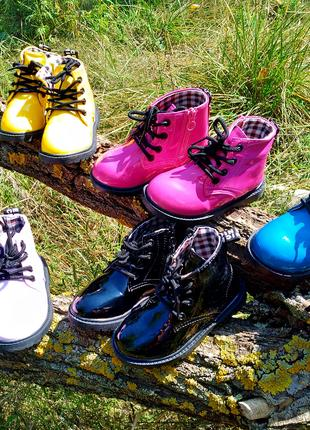 Детские ботинки размер 21-30