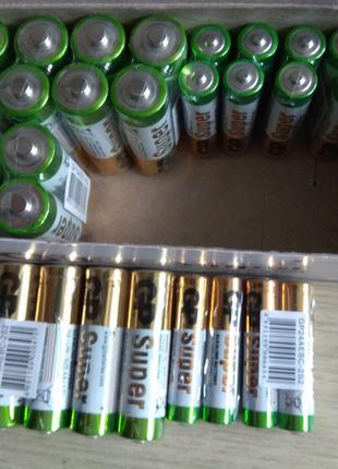 Новые батарейки GP