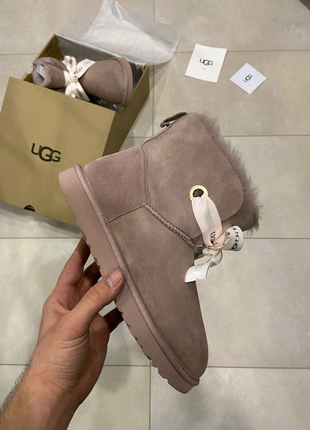 Женские зимние ботинки ugg🔥Натуральная замша, зима