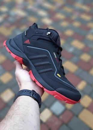 Adidas climawarm 350 чёрные с красным🆕 шикарные кроссовки адид...