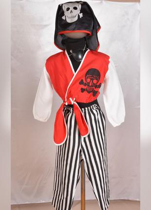 Карнавальный детский костюм Пирата 4-6 лет