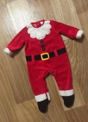 Новогодний человечек / новогодний костюм санты для малыша