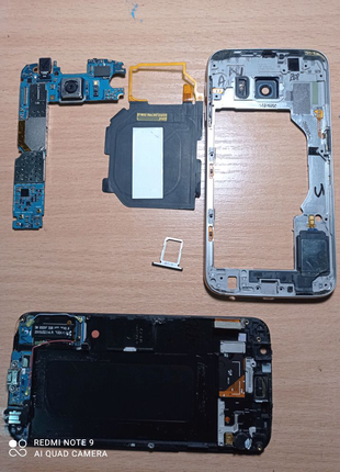 Телефон Samsung S6 на запчастини