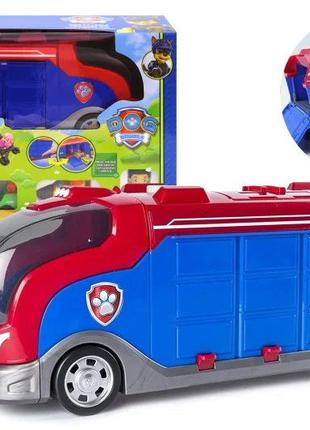 Детский игровой набор Автовоз гараж Щенячий Патруль GG019 озву...