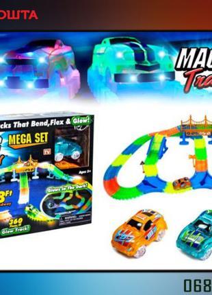 Детская дорога трасса Magic track 360 на 2 машинки + мосты и...