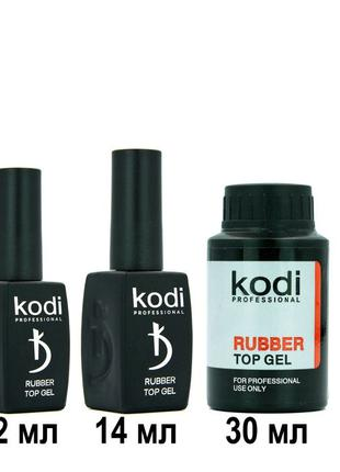 Топ для ногтей Kodi Professional Rubber Top Gel