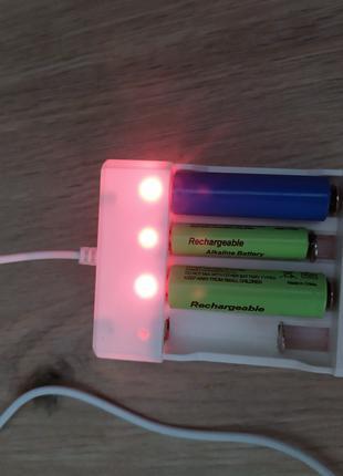 1.2v  USB зарядка Ni Cd Ni Mh АА ААА