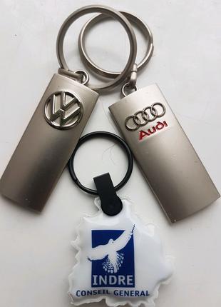 Акция 1+1=3 Брелок Audi VW Volkswagen