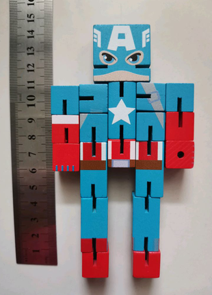 Марвел Marvel фиругка капитана америки супергерои капитан Америка