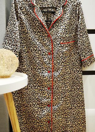 Атласна сорочка для сну і для дому