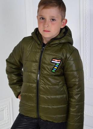 Куртка детская демисезонная 98,122