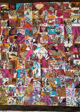 Косынка/платок разноцветные принты