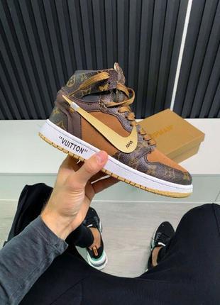 Кроссовки Nike Air Jordan 1 Louis Vuitton x Off White