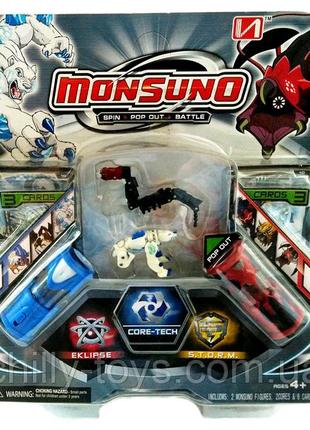 Игровой набор Monsuno: 2 минифигурки Lock и Spikelash