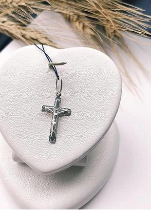 Крестик серебро 925 крест имп 30168