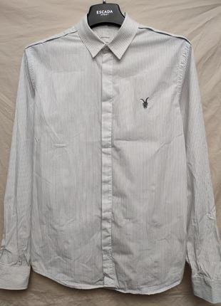 Рубашка slim fit от allsaints
