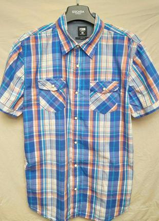 Рубашка с коротким рукавом slim fit от fsbn