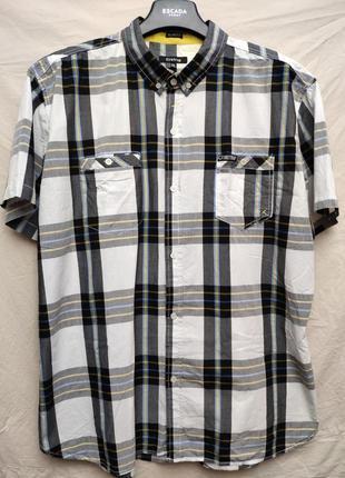 Рубашка с коротким рукавом slim fit от firetrap