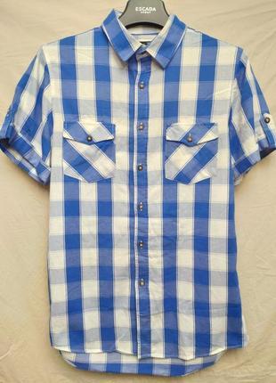 Рубашка с коротким рукавом от topman