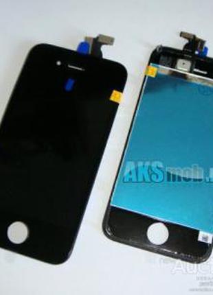 Дисплейный Модуль Apple iPhone 4S-черный