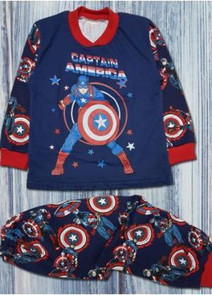 """Пижама для мальчиков """"капитан америка"""""""