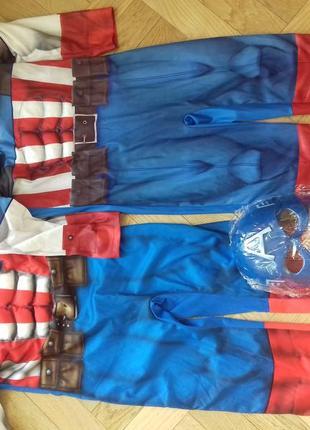 Карнавальний костюм капитан америка