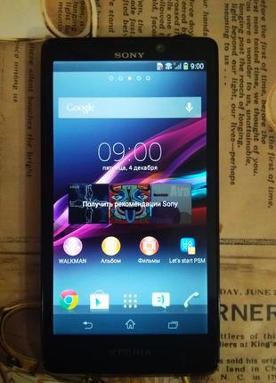Смартфон Sony Xperia T (LT30p) Black