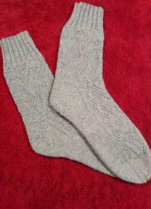 Вязаные носочки, разм. 38-39