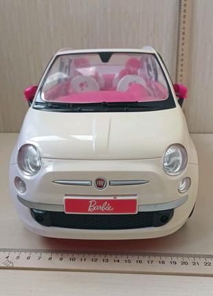 Barbie машина Fiat 500