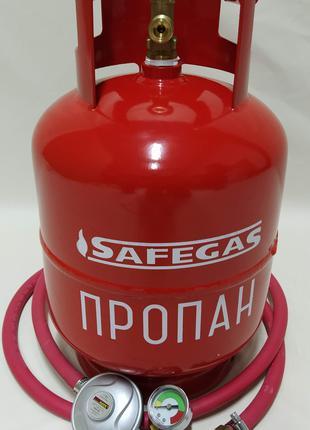 Газовый баллон 12 л. Предохранительный клапан.