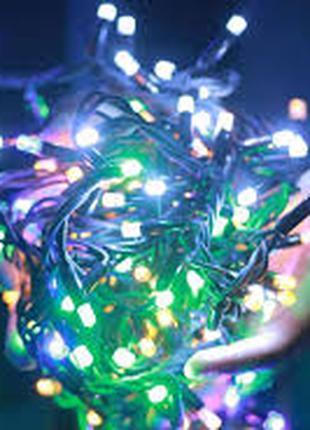 Гирлянда-нить (String-Lights) внутренняя 100M-3 разноцветная