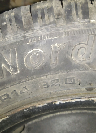 Продам шину Tunga Nordway R14  174/65 82Q m+5.