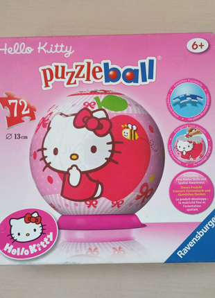 Пазлы puzzle ball Hello Kitty