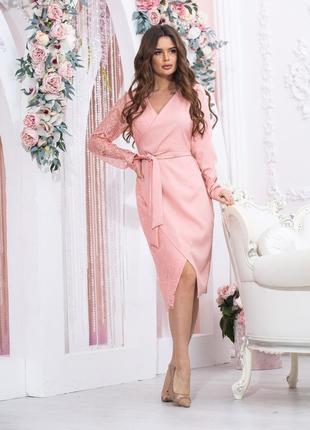 Женское вечернее платье.