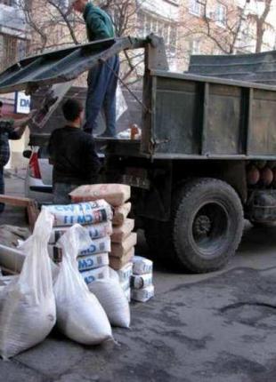 Вывоз строймусора Вывоз мусора грунта камаз зил газель грузчики