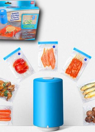 Вакуумный упаковщик для еды Vacuum Sealer Always Fresh, вакуумные