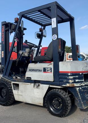Автопогрузчик/автонавантажувач Komatsu на 1.5 тонны