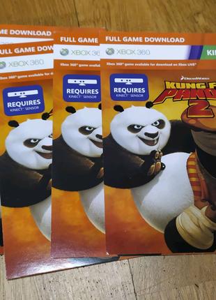 xbox 360 kinect игра kungfu panda 2