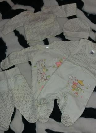 Набір для новонародженої дівчинки