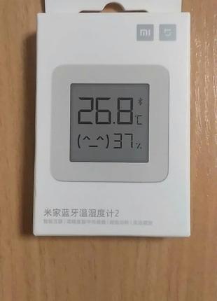 Термометр гигрометр Xiaomi Mijia с экраном и батарейкой