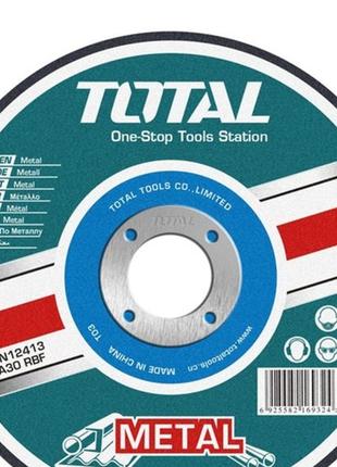 Набор отрезных кругов по металлу Total 115х3.2х22.2 мм