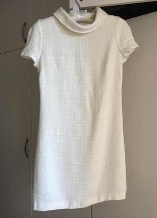 Элегантное белое платье в стиле 60 х